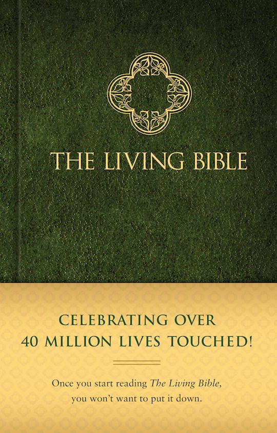 TLB The Living Bible/Text Edition-Hardcover | SHOPtheWORD