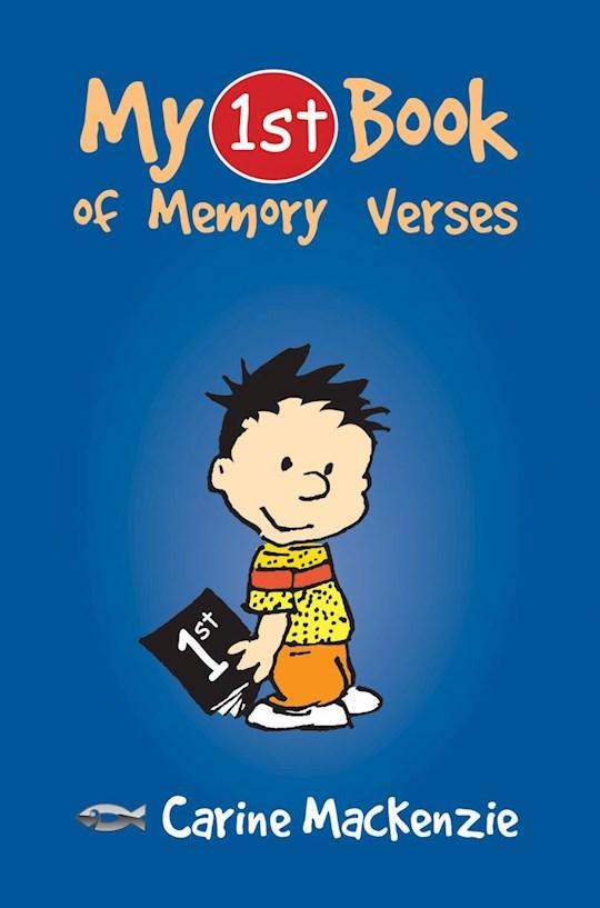 My First Book Of Memory Verses by Carine MacKenzie   SHOPtheWORD