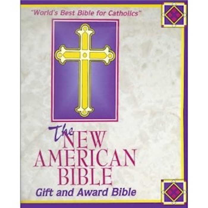 NABRE Gift And Award Bible-White Imitation Leather | SHOPtheWORD