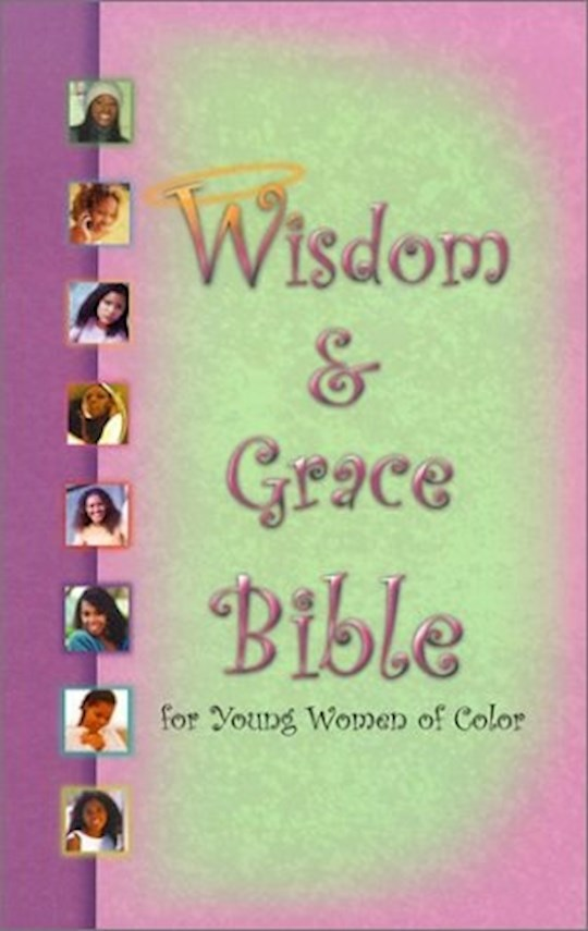 KJV Wisdom & Grace Bible For Young Women Of Color-Hardcover Indexed   SHOPtheWORD