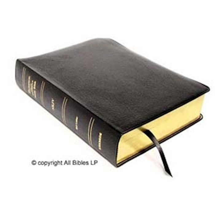 NKJV Thompson Chain-Reference Bible-Black Capri Grain Genuine Leather Indexed | SHOPtheWORD