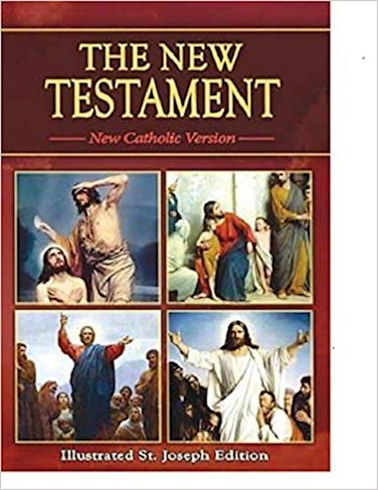 New Catholic Version St. Joseph Edition New Testament Study Edition-Softcover | SHOPtheWORD