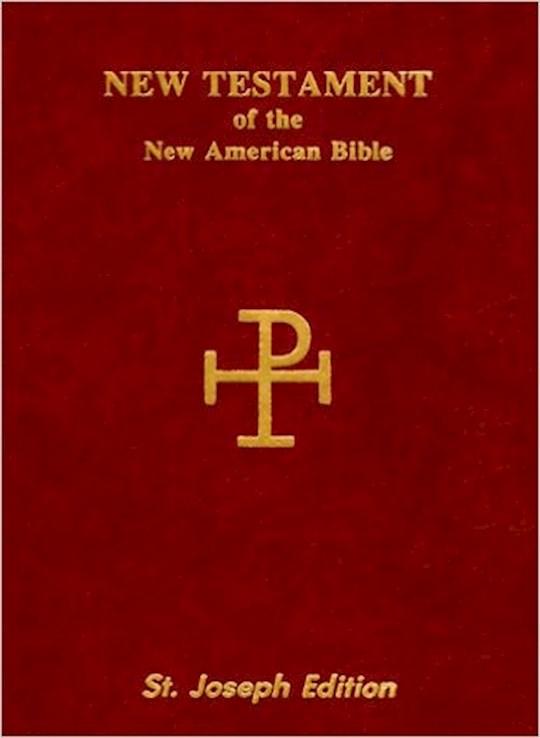 New Catholic Version St. Joseph Edition Vest Pocket New Testament-Brown Softcover | SHOPtheWORD