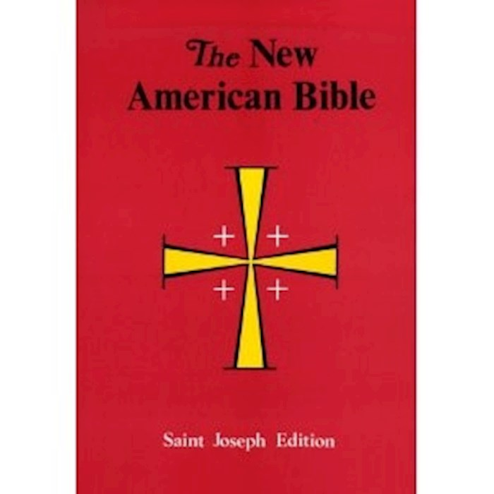 NABRE St. Joseph Edition Full Size Student Large Print Bible-Softcover | SHOPtheWORD