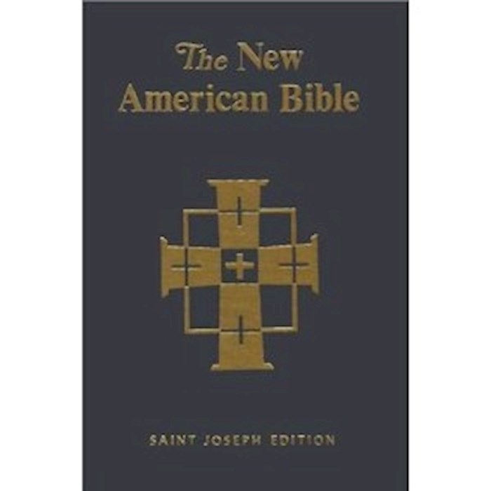 NABRE St. Joseph Edition Full Size Deluxe Student Bible-Black Hardcover | SHOPtheWORD