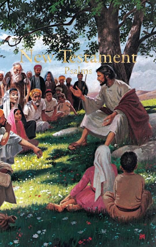 KJV Economy New Testament w/Psalms (Full Color)-Softcover | SHOPtheWORD