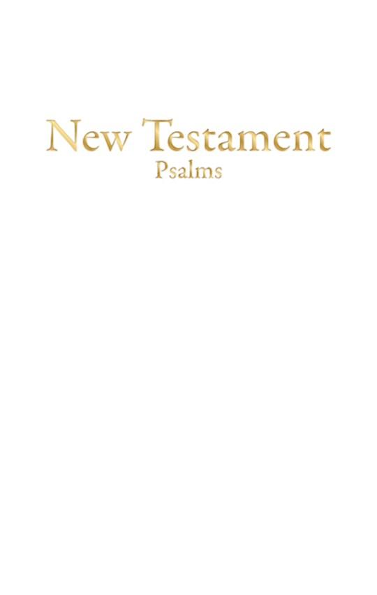 KJV Economy New Testament w/Psalms-White Imitation Leather | SHOPtheWORD