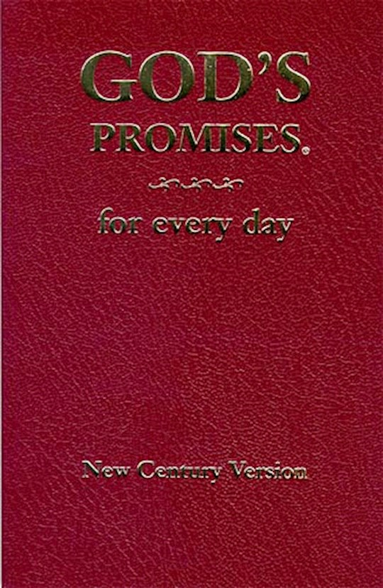 God's Promises For Every Day by Jack Countryman | SHOPtheWORD