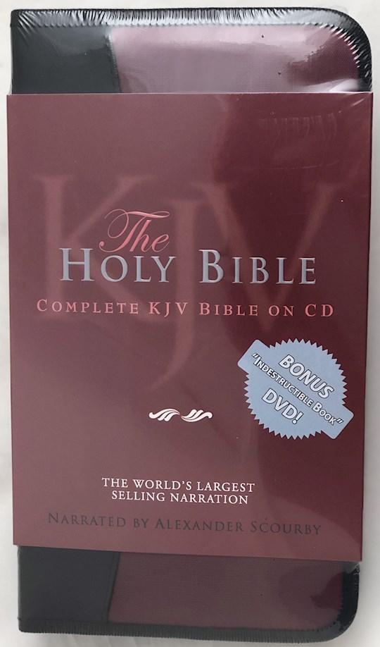 Audio CD-KJV Complete Bible-Nylon Zip (60 Cd + 1 DVD)   SHOPtheWORD
