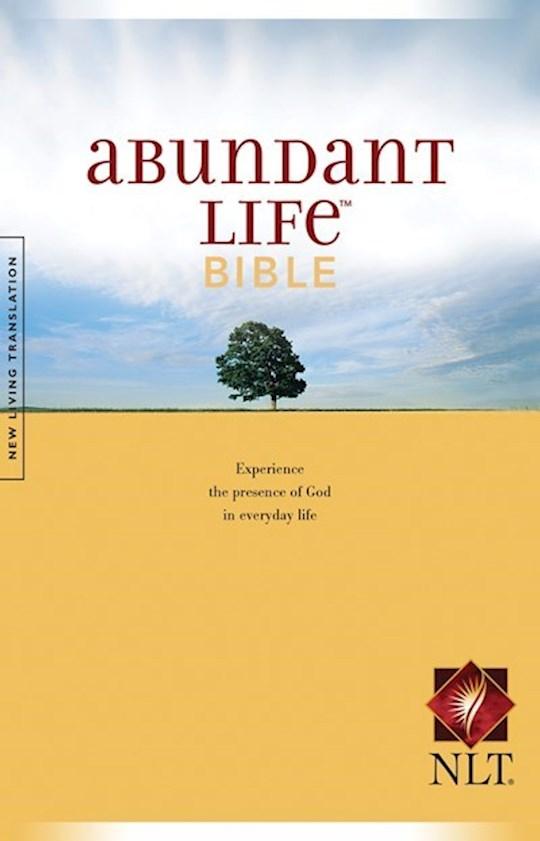 NLT Abundant Life Bible-Softcover | SHOPtheWORD