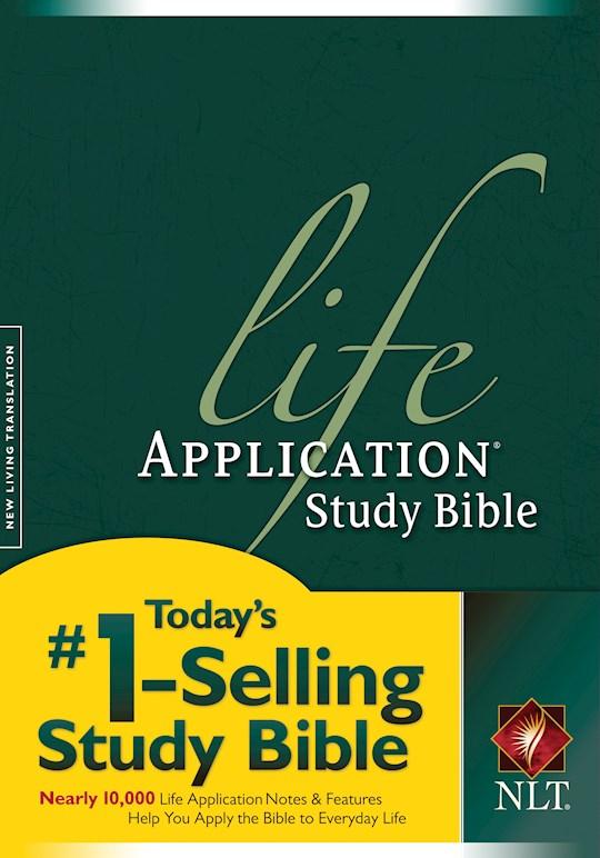 NLT Life Application Study Bible-Hardcover | SHOPtheWORD