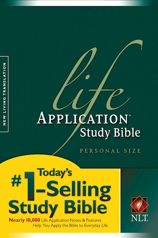 NLT Life Application Study Bible/Personal Size-Softcover | SHOPtheWORD