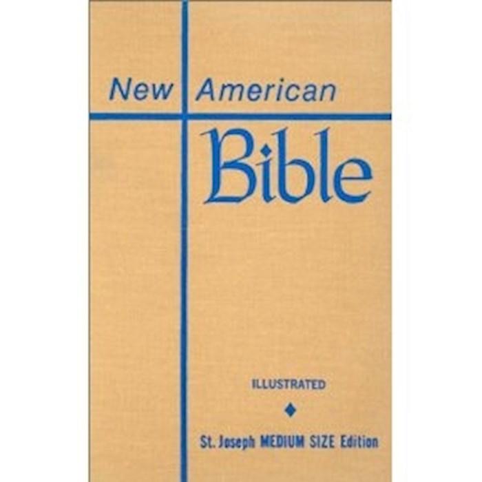 NABRE St. Joseph Edition Medium Size Student Bible-Brown Hardcover   SHOPtheWORD