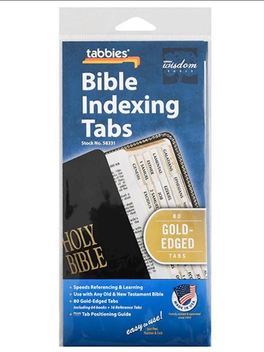 Bible Tab-Standard O&N Testament-Gold | SHOPtheWORD