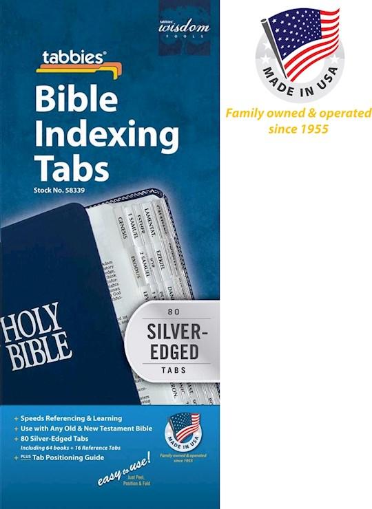 Bible Tab-Standard O&N Testament-Silver | SHOPtheWORD