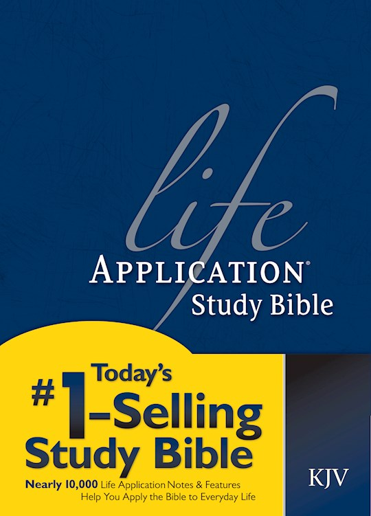 KJV Life Application Study Bible-Hardcover | SHOPtheWORD