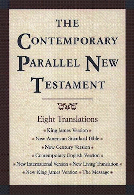 Contemporary Parallel New Testament w/8 Translations-Hardcover | SHOPtheWORD