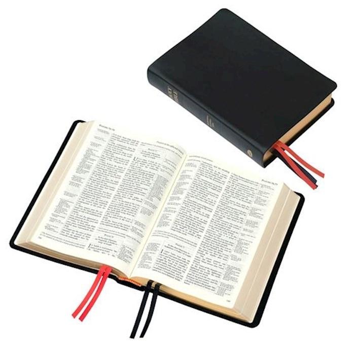 KJV Westminster Reference Bible-Black Calfskin Leather (#90/UBK) | SHOPtheWORD