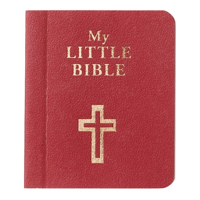 """My Little Bible-Red (2"""" x 2.5"""") by Art Gift Christian 