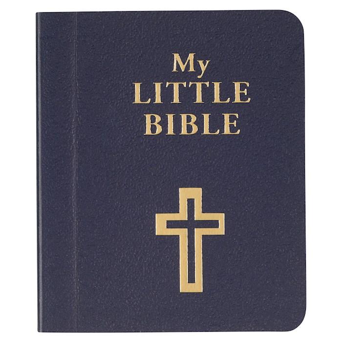 "My Little Bible-Blue (2"" x 2.5"") by Art Gift Christian | SHOPtheWORD"