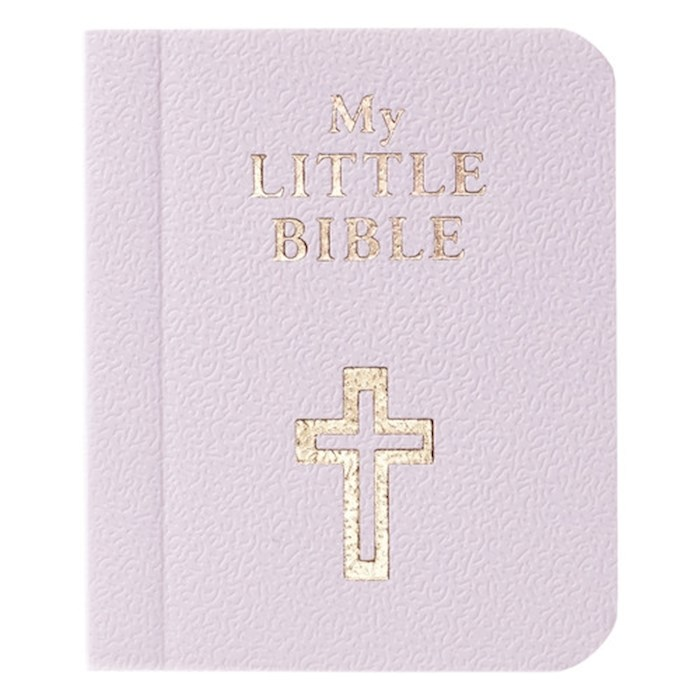 """My Little Bible-Lilac (2"""" x 2.5"""") by Art Gift Christian 