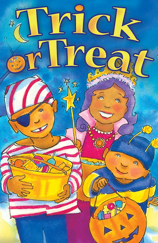 Tract-Halloween: Trick Or Treat (ESV) (Pack Of 25) by News Tracts Good | SHOPtheWORD