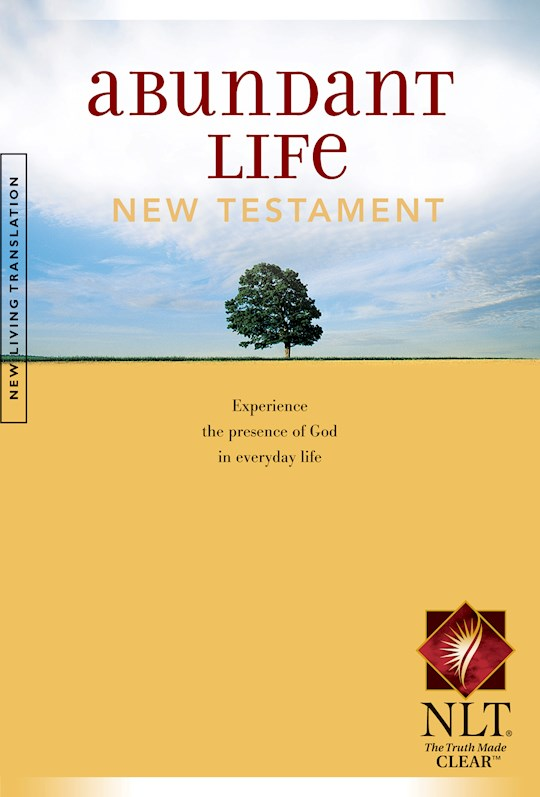 NLT Abundant Life New Testament-Softcover | SHOPtheWORD