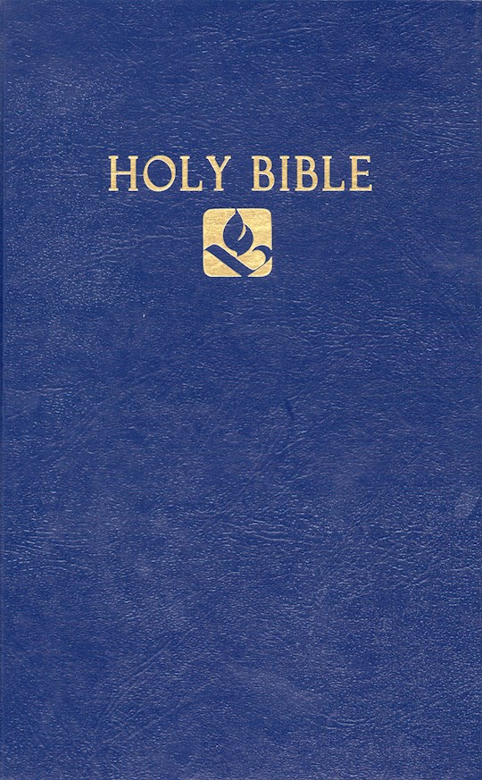 NRSV Pew Bible-Blue Hardcover | SHOPtheWORD