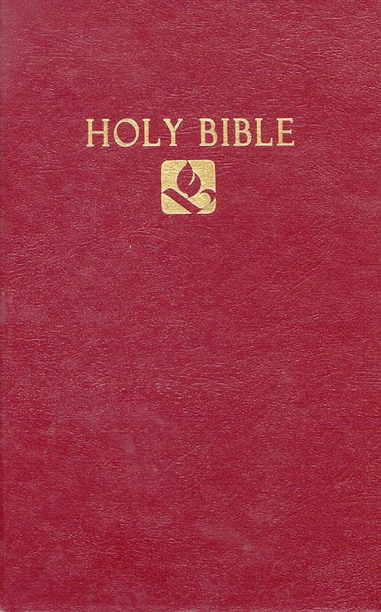 NRSV Pew Bible-Burgundy Hardcover | SHOPtheWORD