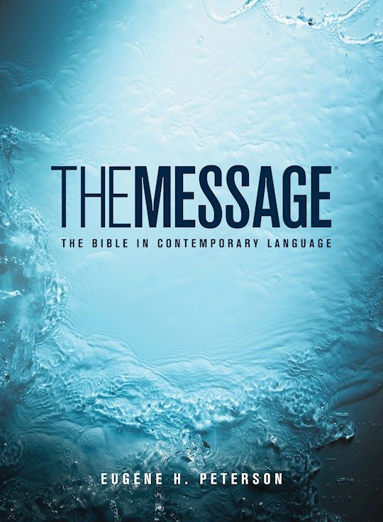 The Message (Numbered Edition)-Hardcover | SHOPtheWORD