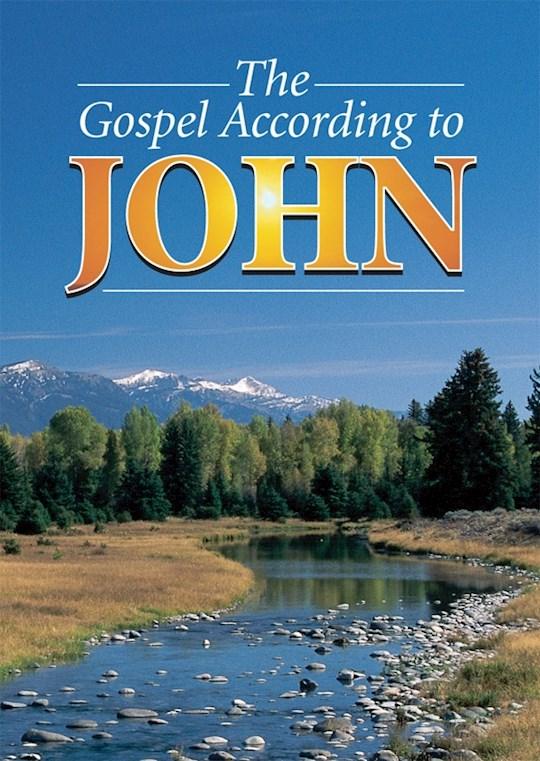 KJV Gospel According To John-Softcover (#JN) | SHOPtheWORD