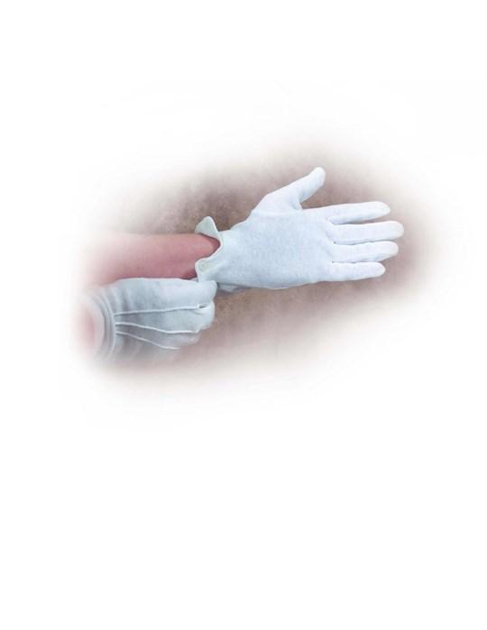 "Gloves-White Cotton-Large (9""-10"") | SHOPtheWORD"