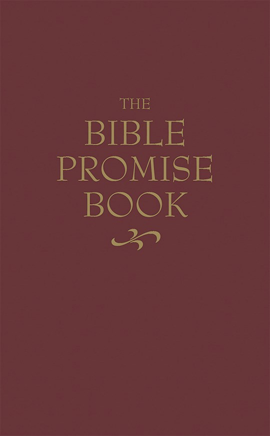 The Bible Promise Book (KJV)-Burgundy by Barbour   SHOPtheWORD