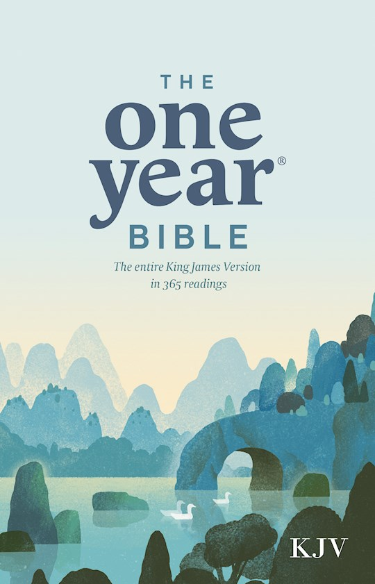 KJV One Year Bible-Softcover | SHOPtheWORD