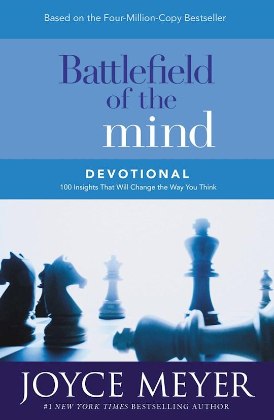 Battlefield Of The Mind Devotional by Joyce Meyer | SHOPtheWORD