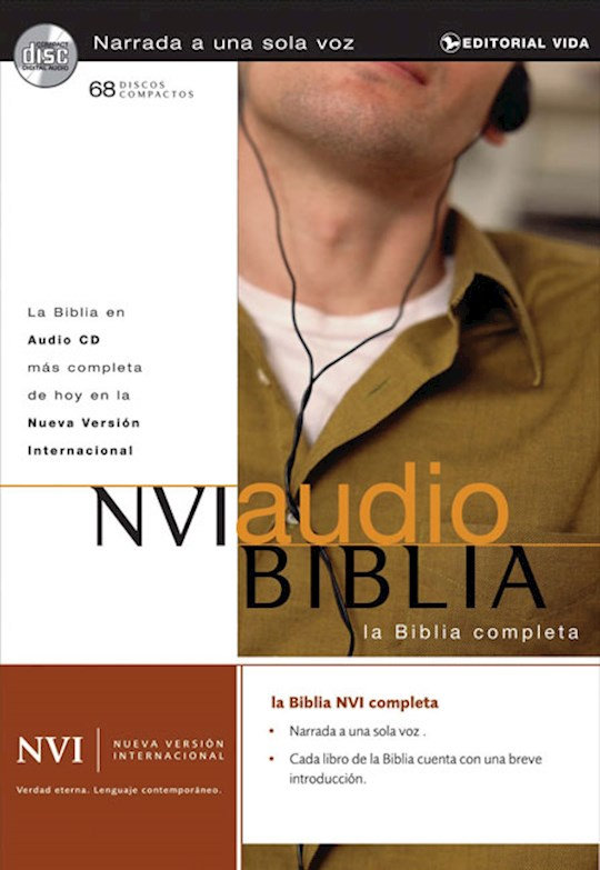 Span-Audio CD-NVI Complete Bible (68 CD) | SHOPtheWORD
