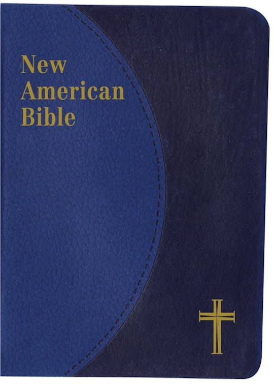 NABRE St. Joseph Edition Personal Size Bible-Blue Dura-Lux Imitation Leather | SHOPtheWORD