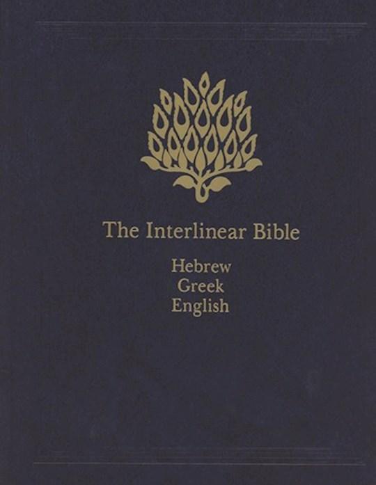 The Interlinear Bible-Hebrew/Greek/English (KJV)-Hardcover | SHOPtheWORD