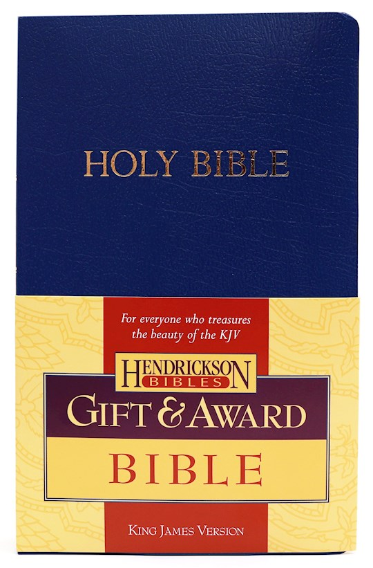 KJV Gift And Award Bible-Blue Flexisoft | SHOPtheWORD