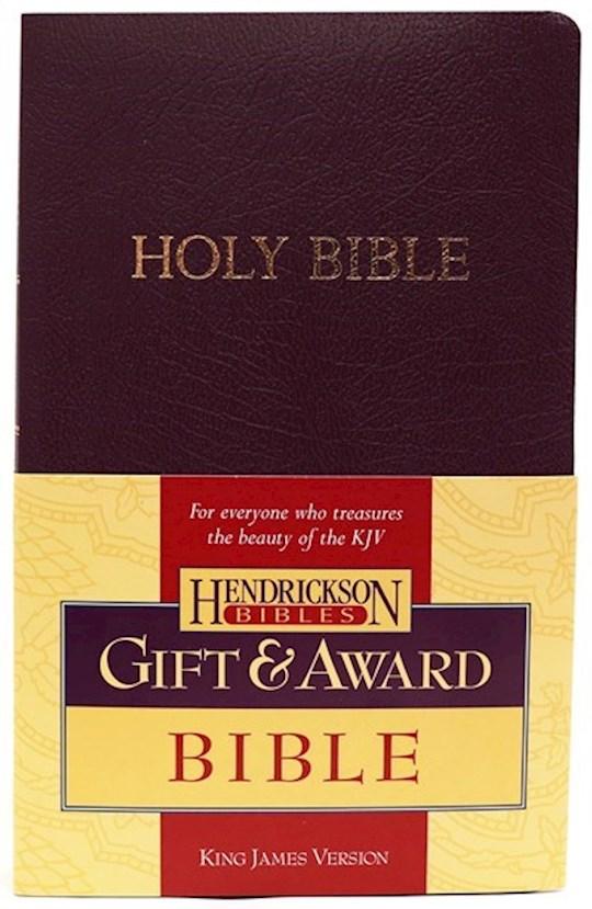 KJV Gift And Award Bible-Purple Flexisoft | SHOPtheWORD