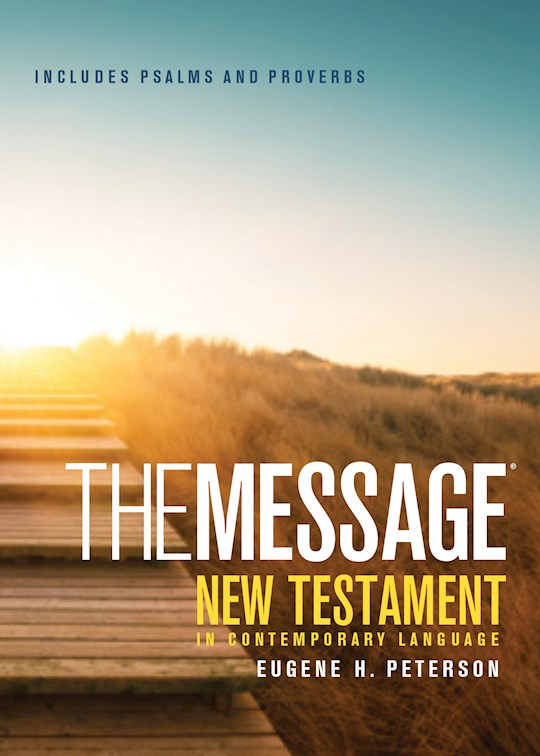 The Message Pocket New Testament Psalms And Proverbs-Softcover | SHOPtheWORD