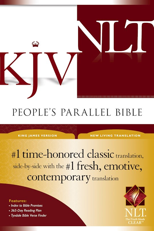 KJV/NLT People's Parallel Bible-Hardcover | SHOPtheWORD