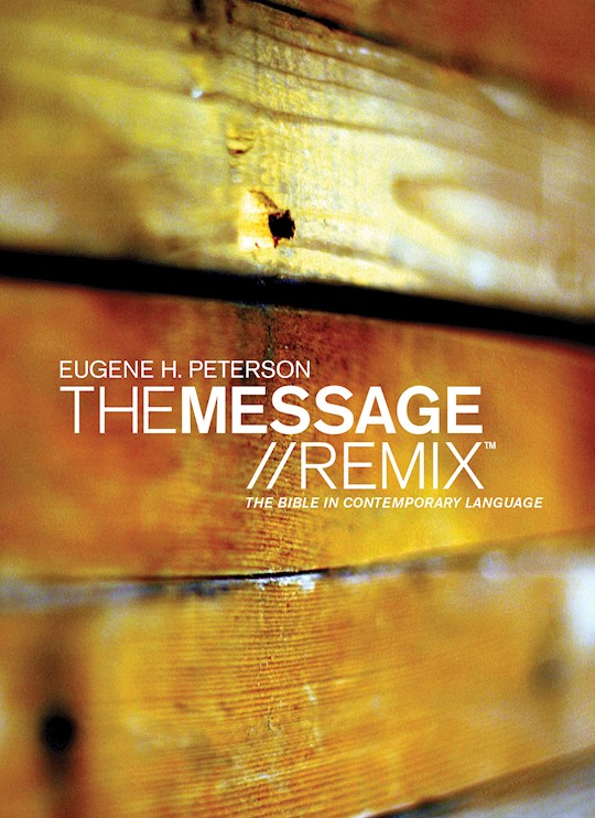 Message Remix 2.0 (Numbered Edition) (Repack)-Hardcover | SHOPtheWORD