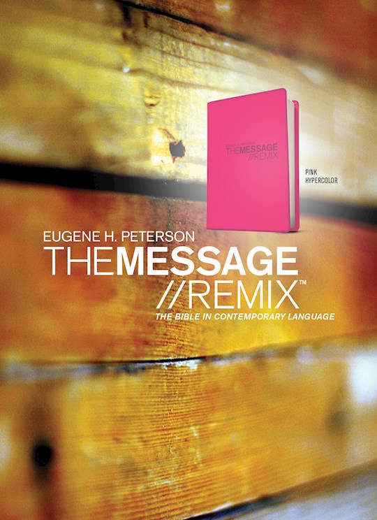 The Message Remix 2.0 (Numbered Edition)-Hypercolor Pink | SHOPtheWORD