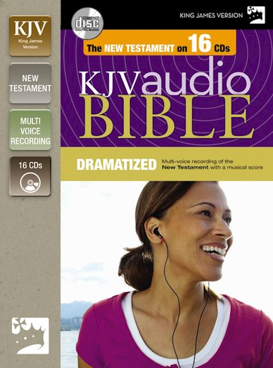 Audio CD-KJV New Testament-Dramatized (16 CD) | SHOPtheWORD