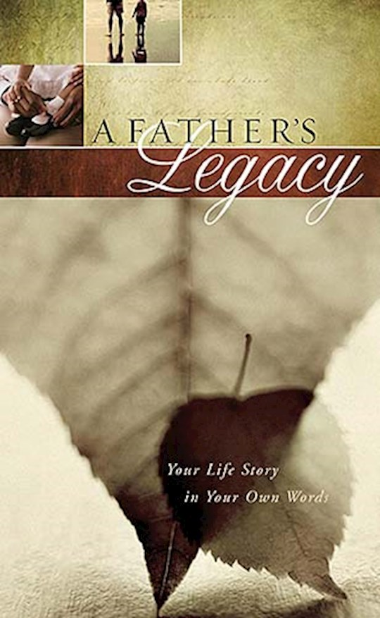 Father's Legacy by Jack Countryman | SHOPtheWORD