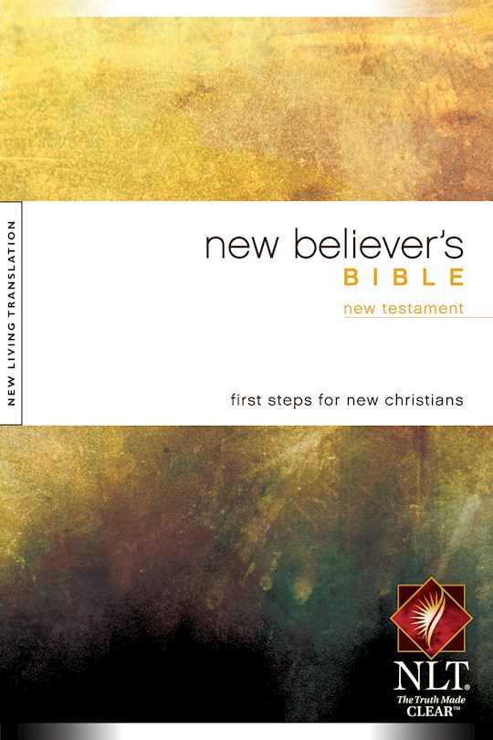 NLT New Believer's New Testament-Softcover | SHOPtheWORD