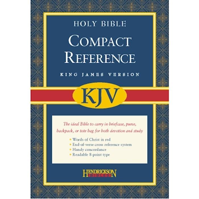 KJV Large Print Compact Reference Bible-Burgundy Bonded Leather (Value Price) | SHOPtheWORD