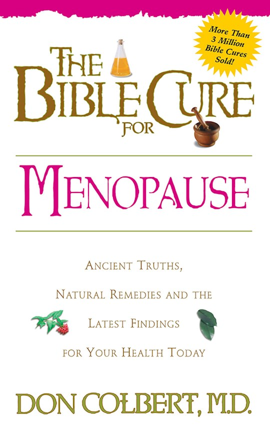 Bible Cure For Menopause by Don Colbert | SHOPtheWORD