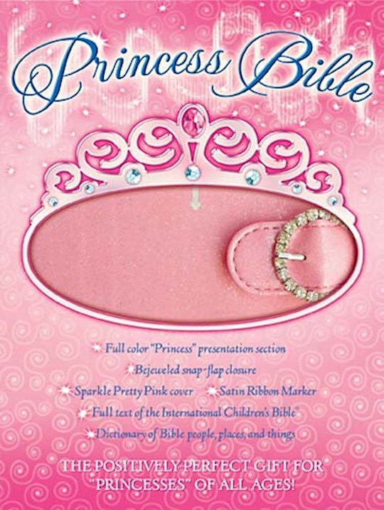 ICB Princess Bible-Pink LeatherSoft | SHOPtheWORD